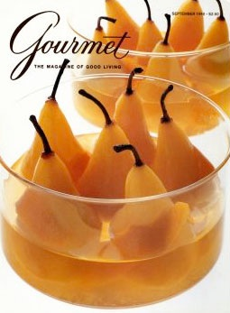 Gourmet cover 1980s